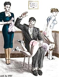 Nice Spanking Cartoons-set 5