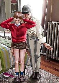 Nice Spanking Cartoons-set 6