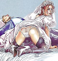 Old Erotic Art  Gallery-set 7